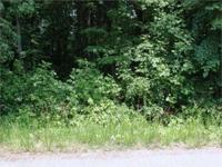 PRICED TO SELL! GREAT, Level 1.579 acre Building Lot