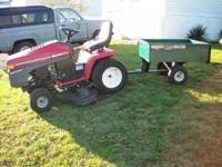 for sale is a Wisard Garden Tractor with a 18 HP Twin