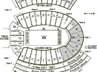2014 Lower Level Football Tickets to all Wisconsin