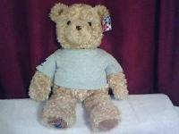 Wish Bear 2000-2001 with tags. It has been stored in a