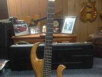 WishBass Custom 5 String Bass Multi Laminated Body Neck
