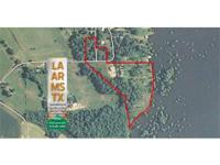 9.2 acres and Home on Turkey Creek Lake in Franklin