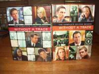 Without a Trace DVDs, Series 1 and 2. $12 each or $20