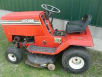 "Wizard 38"" cut riding mower 12 HP BRIGGS & STRATTON"