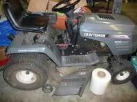 have a wizard riding mower. made by craftsman. back