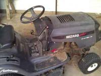 Riding mower model #AYP9177189. Wizard Plus riding