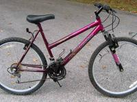 19? frame. 26? x 1.95? tires in good condition. Falcon