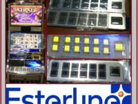 OLED Button Panels directly from Esterline!  Call us