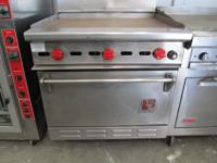 commercial gas combo oven grill md# C345-214Phoenix