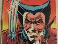 WOLVERINE LIMITED SERIES# 1,2,3,4 Sep-Dec 1982 1st