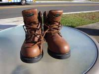 Wolverine Work Boots Size 9M Mens Like new Model