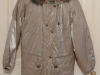 This nearly new winter months coat by Karizma East Ltd.