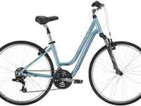 "Trek 7100 WSD. aluminum frame size 13.5"", adjustable"