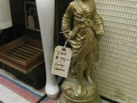 WOMAN STATUE IN BOOTH SPACE # V04  If you have any