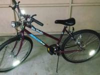 Hello there i got this 10 Speed Woman's City bike for
