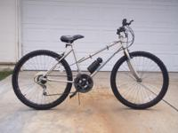 Womans, 15-speed, ultra terrain, mtb. All tuned-up,