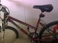 "Woman's 26"" 18 speed road master bike. Bought brand new"