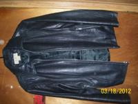 This is a nice womans size medium leather Jacket. The