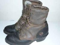 Double- H Boot Company Womans Ropers AG7 Ladies Packer