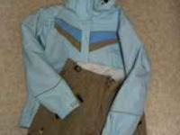 I have a womans snow set.. Columbia brand, jacket and