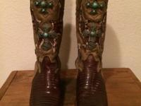 Custom made by Corral Boot Company. Women's 9 1/2 The