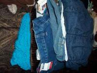 SELLN WOMEN CLOTHES SZ 24 MOSTLY NEW WIT TAGS AND USED