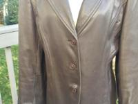Ladies Liz Claiborne Collections, Lambskin chocolate