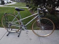 Used road bike has been detailed and