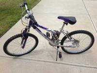 I'm offering my children 18 Speed Road Master bike. It