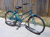 Women's 26? Huffy Savannah 3 Speed Comfort Touring
