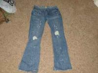 I am selling a pair of my Abercrombie & Fitch jeans