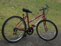WOMEN'S BIKE,  18 SPEED, EXCELLENT CONDITION, SALE