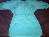 Can be worn as a Blouse or Dress, New Condition, Size
