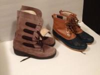 Both pairs are in excellent condition size 8 $30.00 for