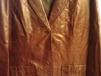 Like New Gap Brown Leather. I only wore it twice.