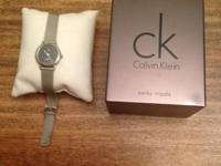 Calvin Klein  Womens watch Model k03331 Stainless steel