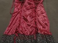 Pretty pink chemise/nightie by Native Intimates. This