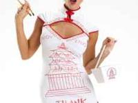 Women's size Medium Chinese Takeout costume. Super cute