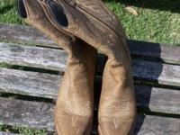 I have a fairly new pair of Women's cowboy boots that