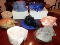 Selling all 9 hats... some new & some gently used.