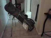 Beginner Women's Golf Club Set w/Baby Blue Golf Bag