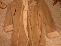 3 jackets for sale, long leather is a small, chocolate