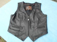 Used Womens Leather Vest Manufacturer: First