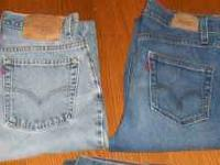 I have 2 pair of women's Levi jeans that are in great
