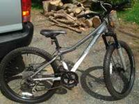 2 year old Giant women's Rincon Mtn Bike. 14 inch frame