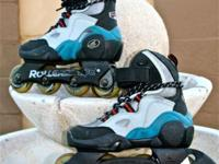 Hardly utilized pair of Burner 212 Rollerblade inline