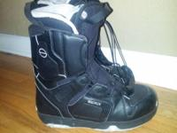 Women's Saloman Solace Snowboard Boots. Size 8 1/2 Pull