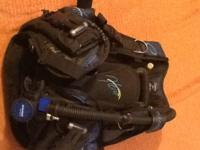 Complete dive package, includes Womens Oceanic Hera BC