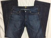 Authentic -- Women's Seven 7 for All Mankind A Pocket