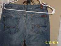 Womes Designer Jeans  Brand: Seven for All Mankind (by